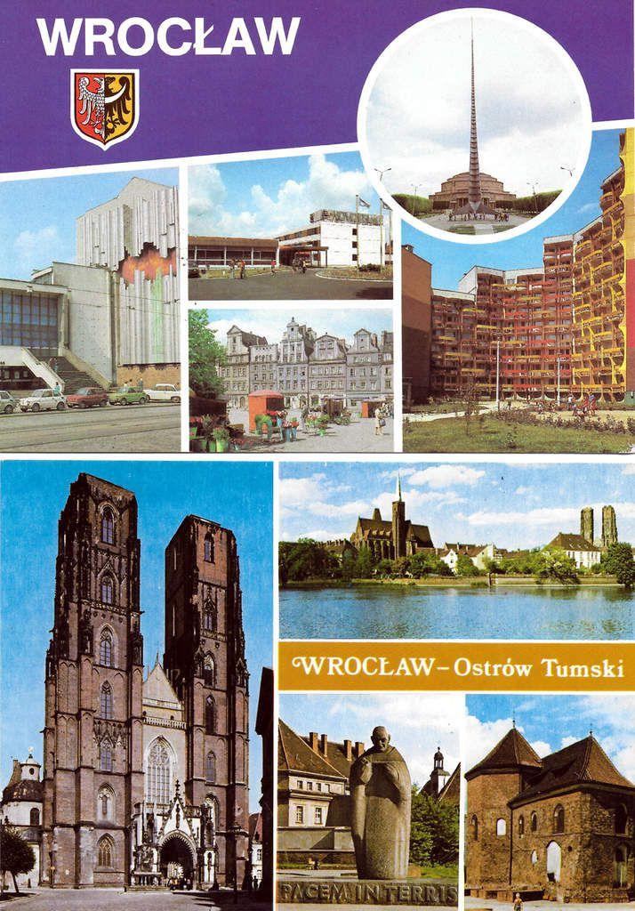 Cartes postales de Wroclaw