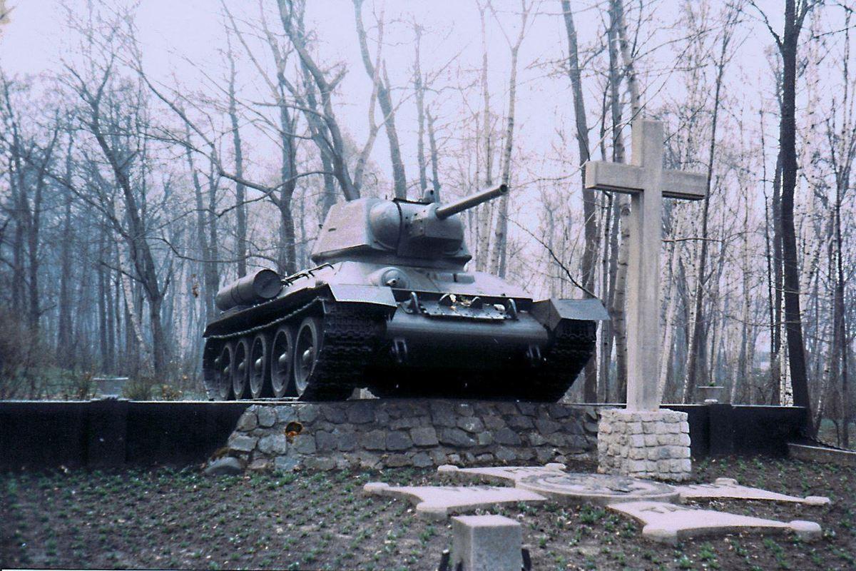 Autres photos de Pologne...Gdansk ou Crakovie ? Le char est un T34 soviétique