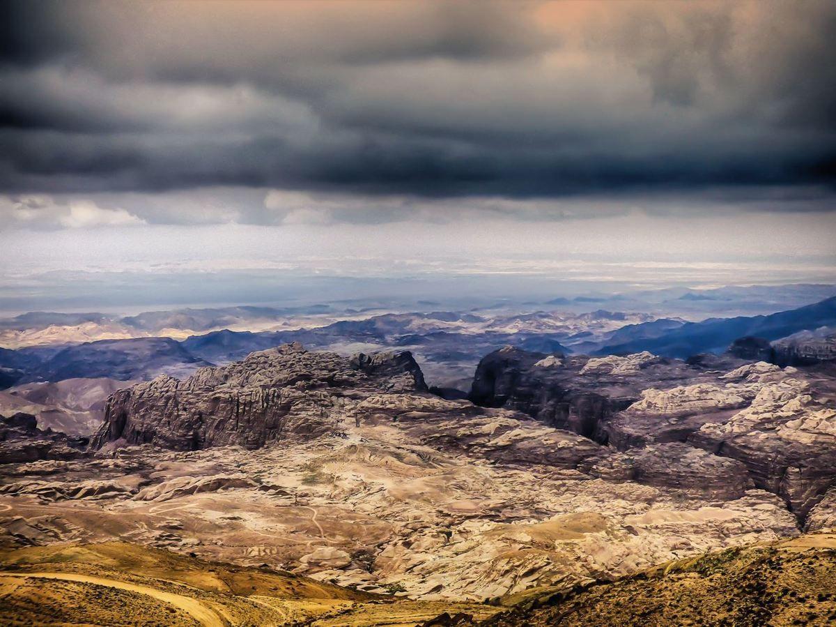 La Jordanie-Le Wadi Rum