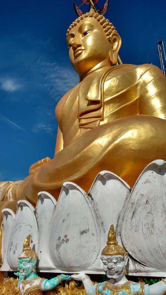Le haut du temple