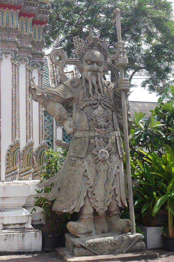 Le Wat Pho (temple du bouddha couché)