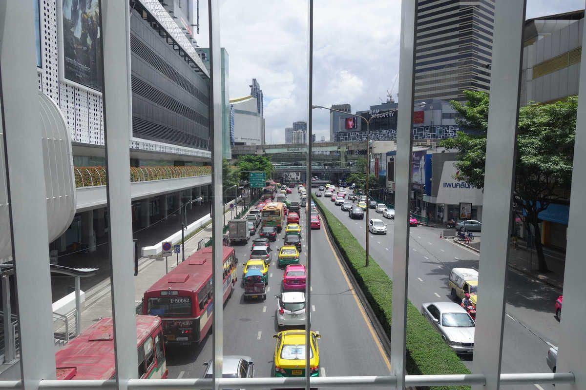 BANGKOK RATCHAPRASONG : Quartier des Affaires