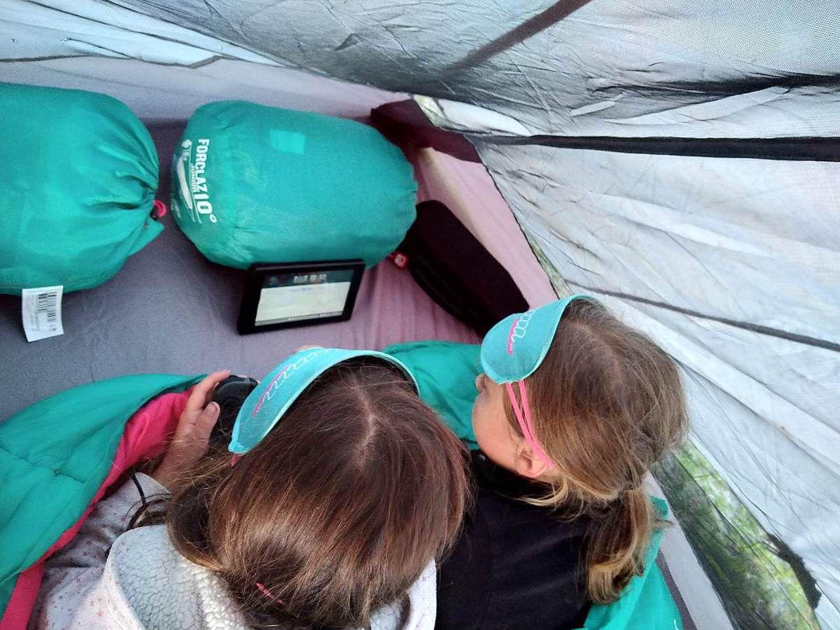 Trop dur le camping sauvage avec la switch !!!