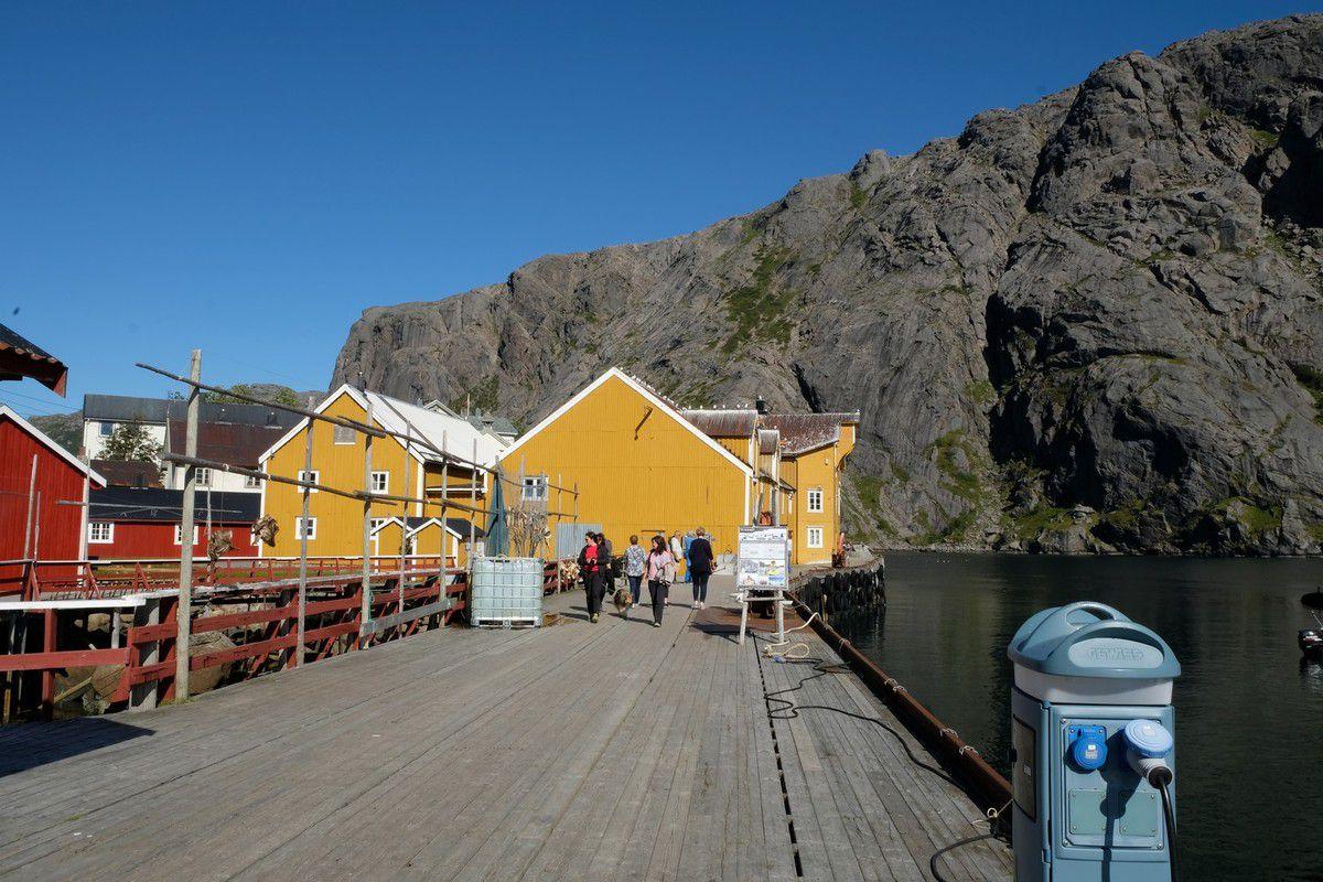 Petit village de Nusfjord
