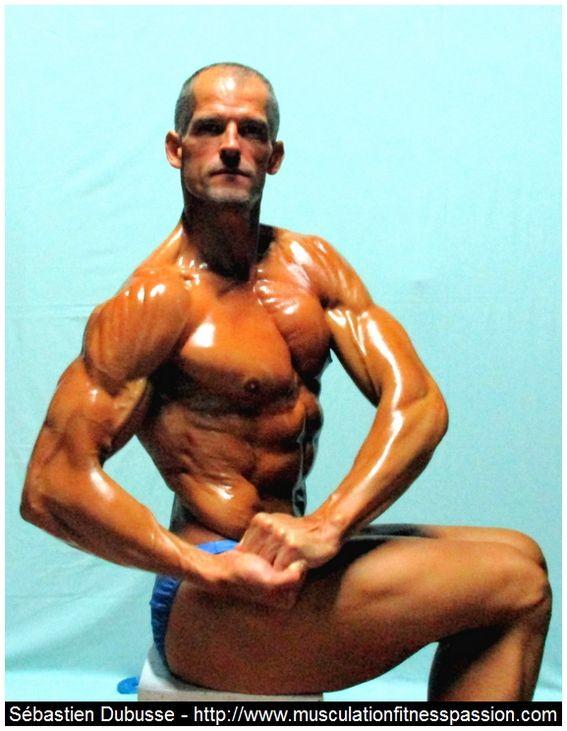 Exercice de musculation, le Kick Back avec haltère pour les triceps, Sébastien Dubusse, blog musculationfitnesspassion
