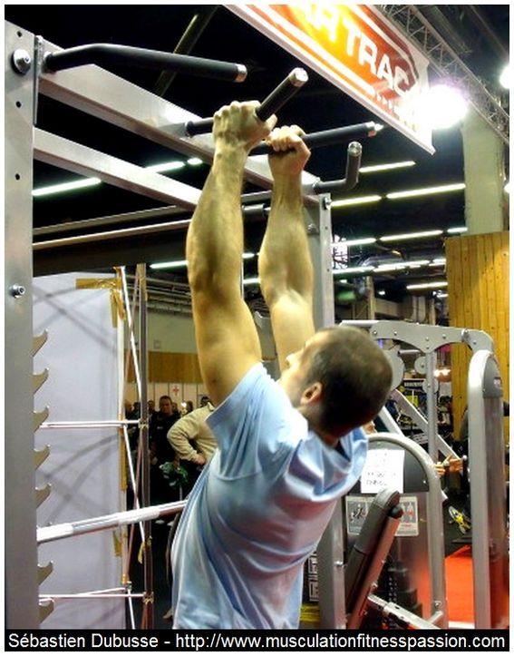 Entraînement en musculation avec le poids du corps, partie 2, Sébastien Dubusse, blog Musculation/Fitness Passion
