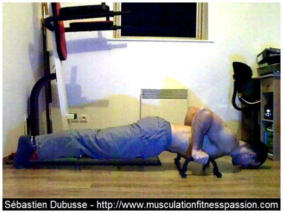 Entraînement en musculation avec le poids du corps, partie 4, Sébastien Dubusse, blog Musculation/Fitness Passion