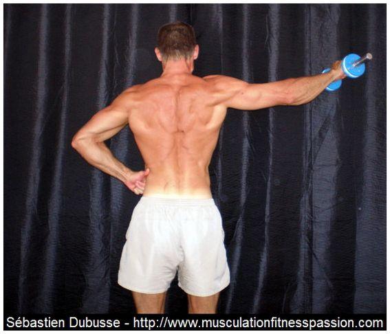 Des épaules bien larges, Sébastien Dubusse, blog Musculation Fitness Passion
