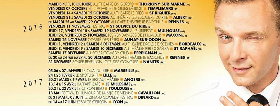 JEANFI DÉCOLLE au Théâtre BO St Martin !