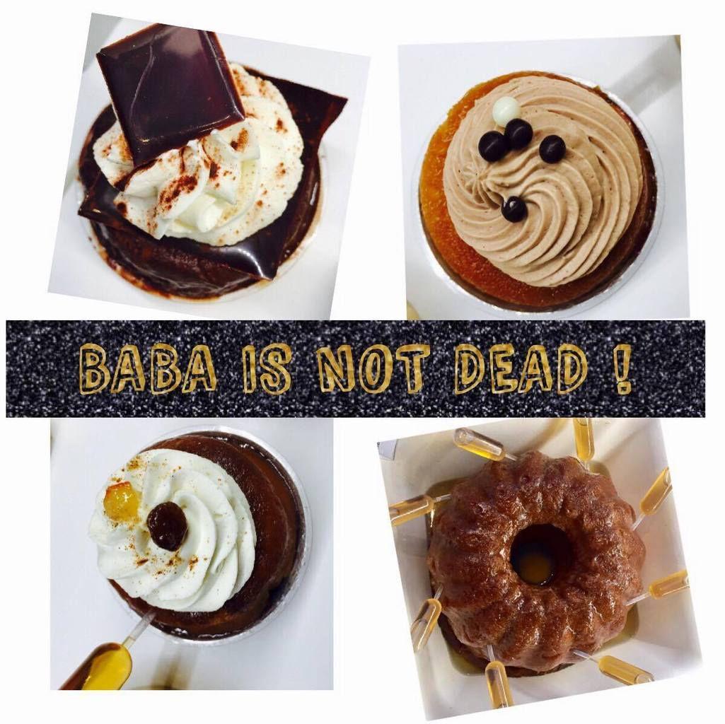 BABA IS NOT DEAD ! Découverte d'un lieu de gourmandise dédié au baba à Paris !