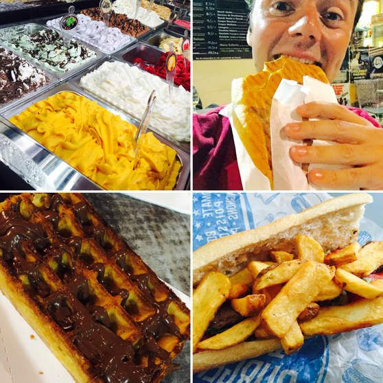 J'ai testé... Le Snack / Glacier La Dame Blanche à Avignon !