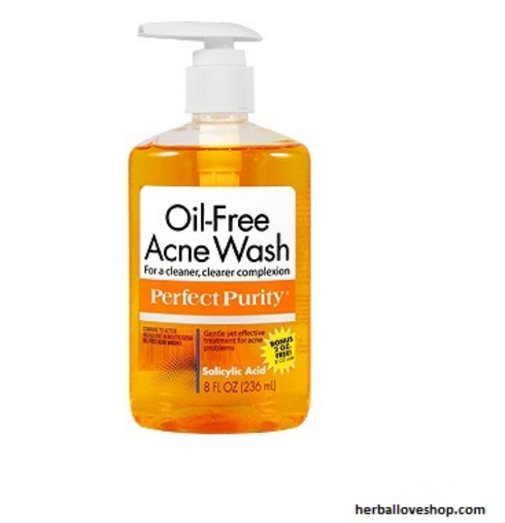 gel oil free acné wash perfect purity