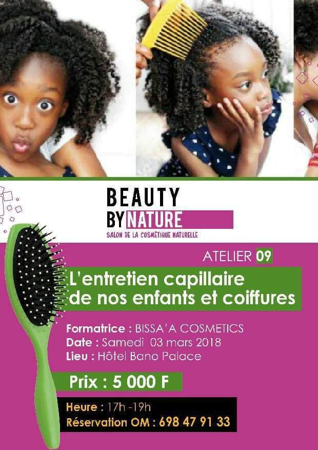 Beauty by nature : le salon de la cosmétique naturelle au Cameroun