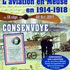 Exposition à Consenvoye sur l'aviation en 14-18 et le comte de Bruce