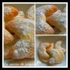 Demi lunes à la vanille au thermomix ou sans (Vanilkové rohličky ) recette Tchéque