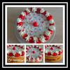 Victoria sponge cake aux fraises au thermomix ou sans