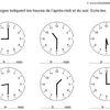Les heures de l'après-midi et du soir exercice