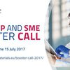 #Startup : Start-up and SME Booster Call 2017