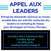 NOUS RECRUTONS nos leaders