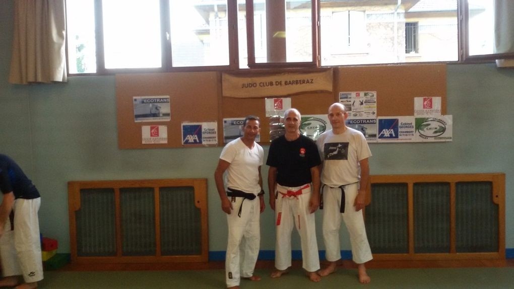 Karaté et judo à Barberaz !!