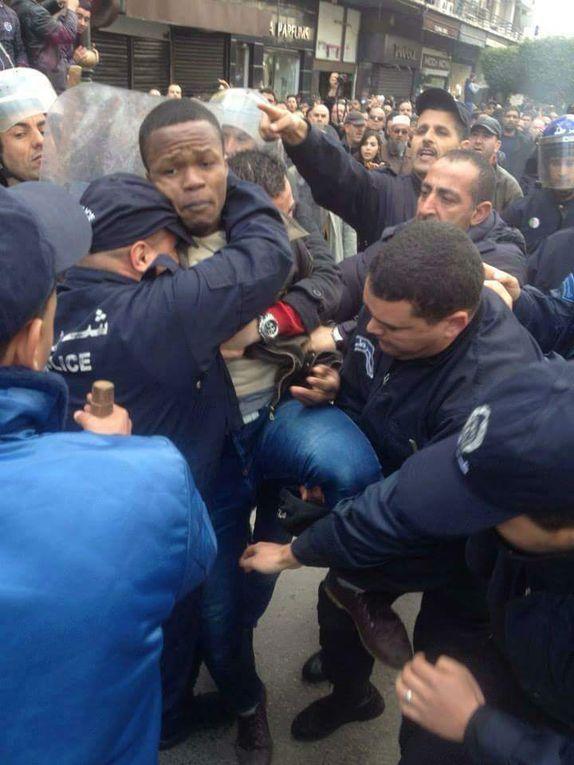 ALGER :  Les noirs africains subissent les affres de la police et des voyous. K-Direct - Actualité