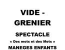 VIDE GRENIER ET ANIMATIONS DIMANCHE A MARBOUÉ