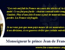CITATION de Monseigneur le Prince Jean de France