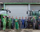"""C'est la rentrée pour les apprentis du Certificat de Spécialisation """"Tracteurs et Machines Agricoles"""""""