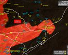Heurts Intenses en cours entre l'armée syrienne et l'Etat islamique à l'entrée de Palmyre (Southfront)
