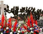 France : la tombe du général de Gaulle dégradée (AFP)