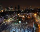 Des milliers d'Israéliens manifestent pour la solution à deux Etats (AFP)