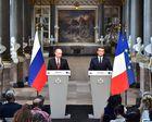 Intégrale de la conférence de presse Macron Poutine au Château de Versailles (Vidéo)