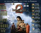 BAHUBALI 2 - FRANCE SHOWTIME TAMOUL et HINDI