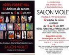 12 - 25 JUIN 2017 SALON VIOLET