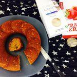 Banana bread et fraises séchées sans gluten  avec mon partenaire Elixanatur.fr