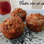 Muffins aux flocons d'avoine et pomme râpée