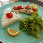 Papillote de cabillaud aux tomates et champignons (cuisson vapeur)