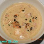 Cassolette de fruits de Mer au thermomix