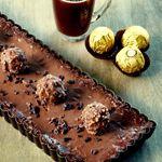 """Tarte tout chocolat qui déchire pour les 7 ans de ma """"Petite plus si petite que ça"""" Chocolatine"""