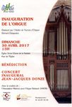 Inauguration de l'Orgue restauré