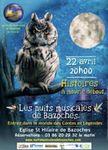 """Concert """" Histoires à mourir debout """" à Bazoches le 22 avril 2017 à 20h"""