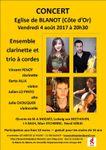 Les concerts de Blanot (Côte d'Or)