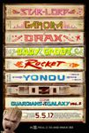 Les Gardiens de la Galaxie Vol 2 : Spot superbowl + photos + poster