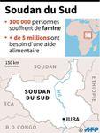 La famine est déclarée au Soudan du Sud