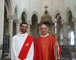 Ordination de diacre de Benoit BLIN à l'Abbatiale de Pontigny (Yonne)