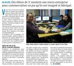 """4 collégiens d'Aix-en-Othe créent """"le Stratège"""""""