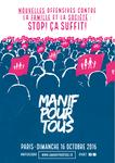 Demain 16 octobre, MANIF POUR TOUS DU ROSAIRE pour ceux qui ne peuvent être à PARIS