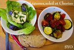 Légumes, Soleil et Chorizo