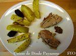 Cuisse de Dinde Paysanne, cuite au four du Petit Bistro