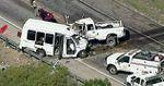 13 muertos y dos heridos en un accidente de autobús en EEUU